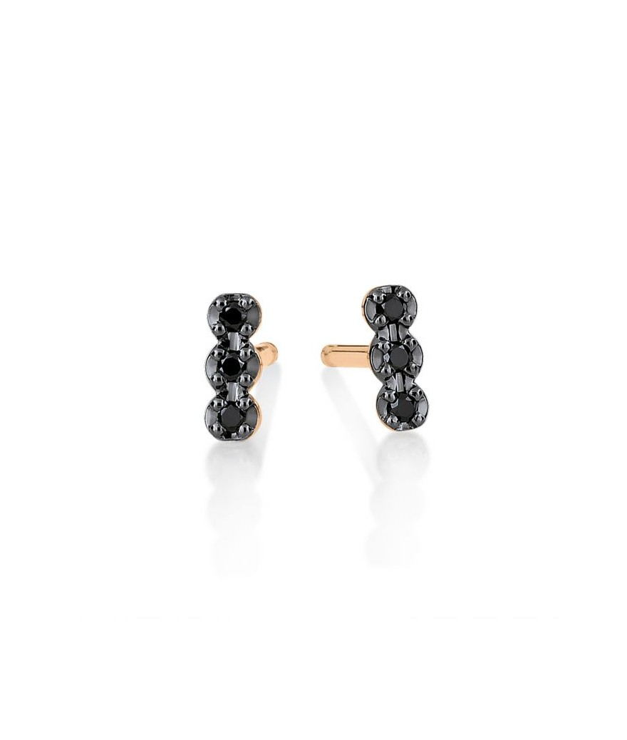 Boucles d'Oreilles Black...