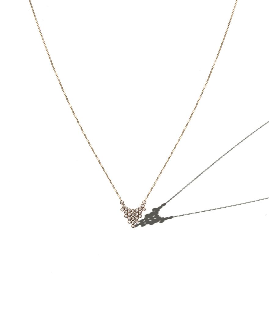 Collier Charnière Diamants