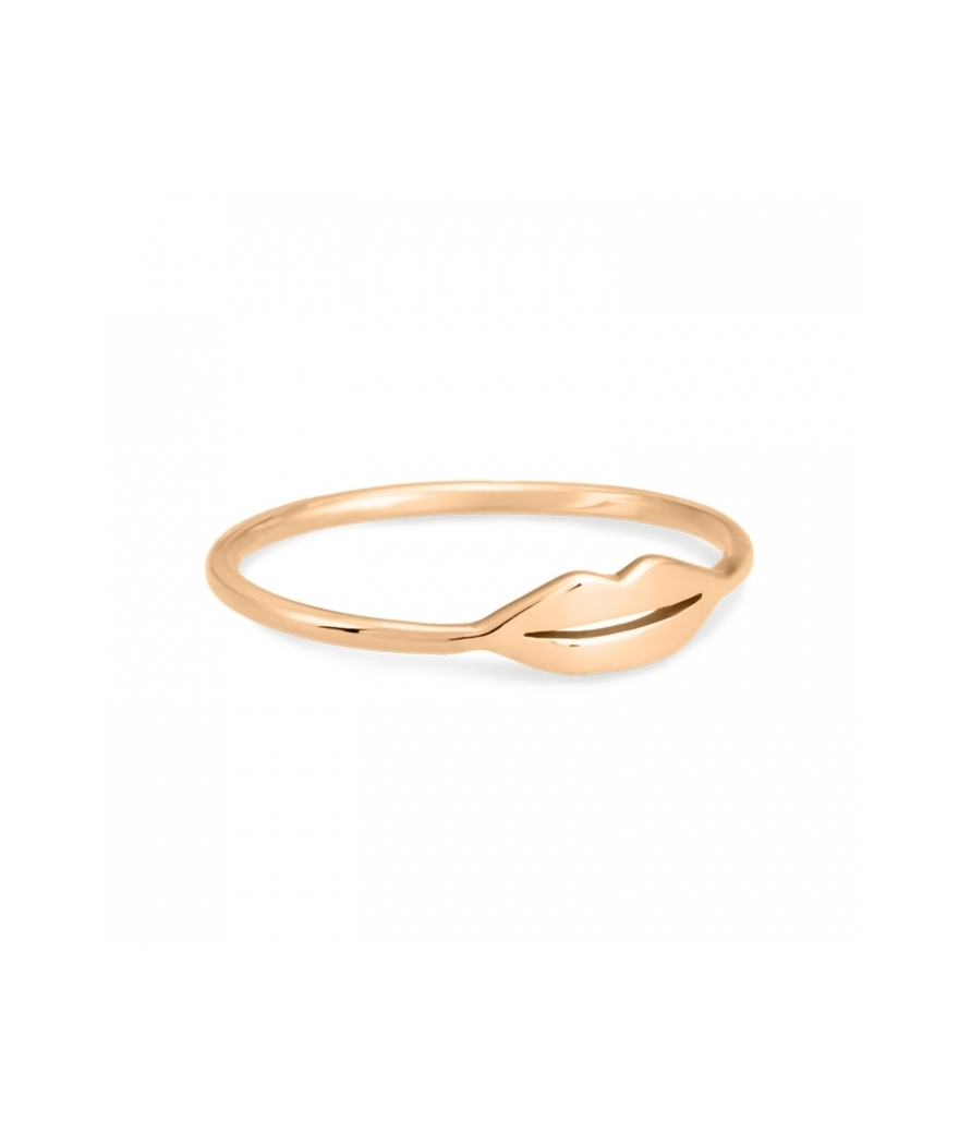 Bague French Kiss Or rose