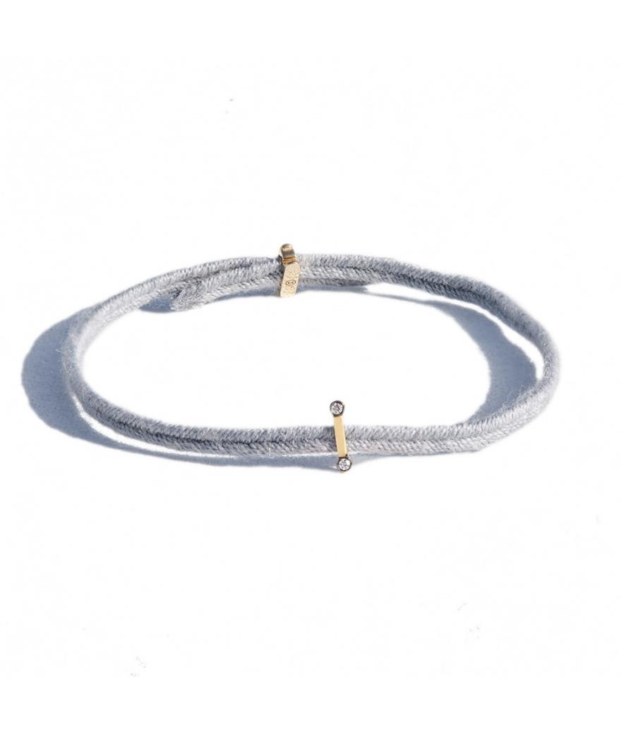 Bracelet Charnière Sygma diamants blancs