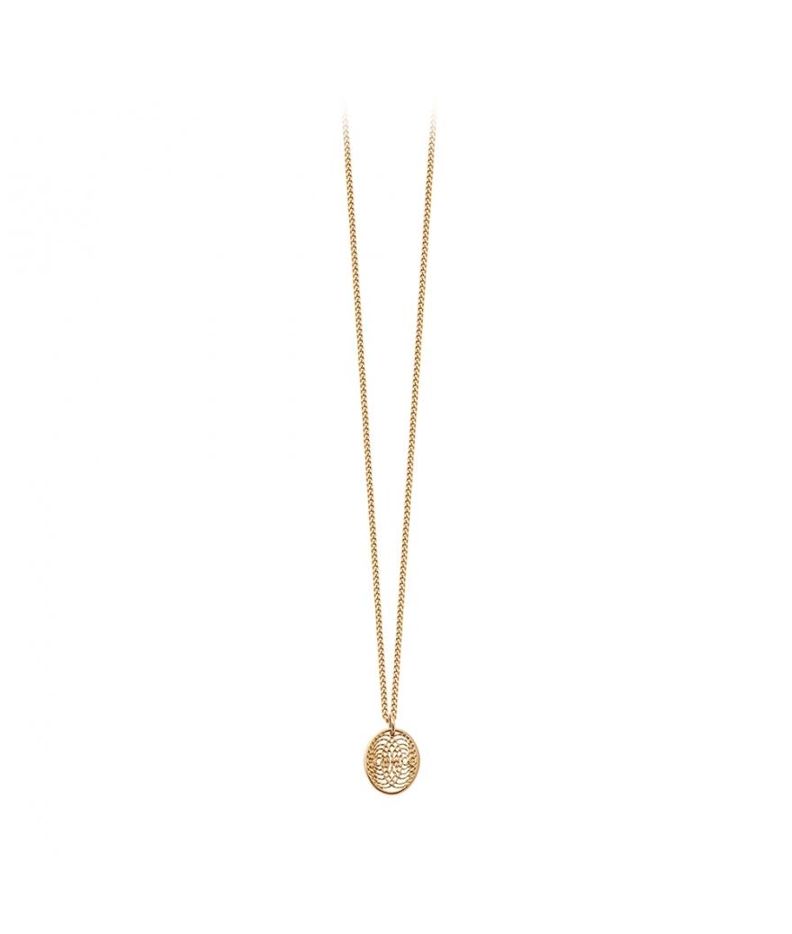 Collier Aura petite médaille