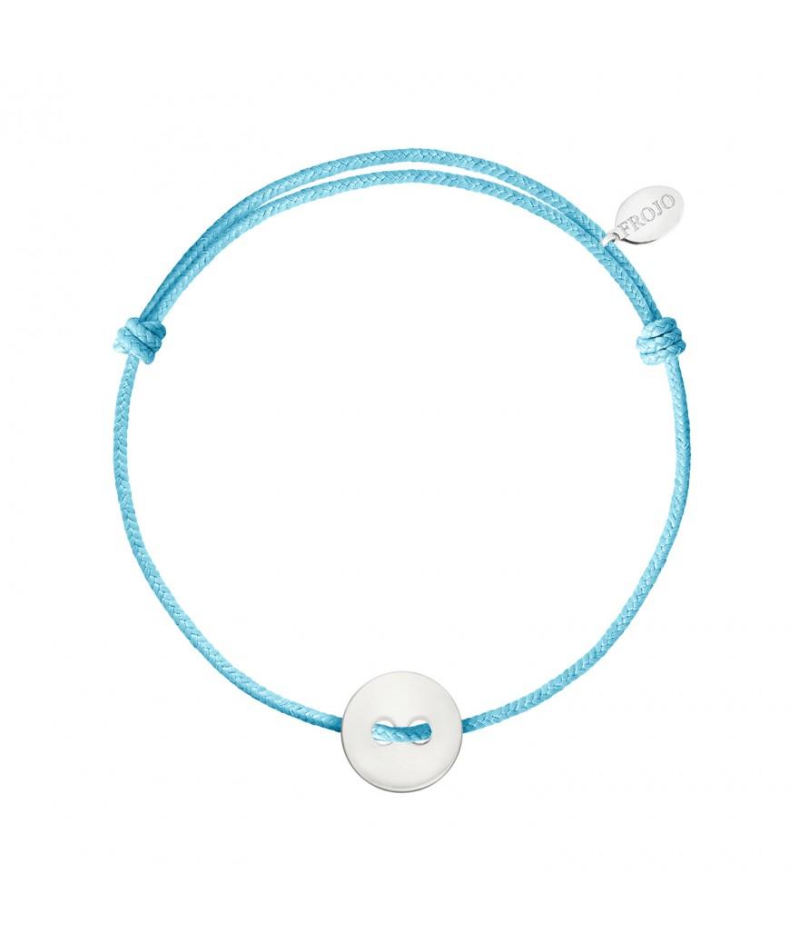 Bracelet Bouton Blanc Sur...