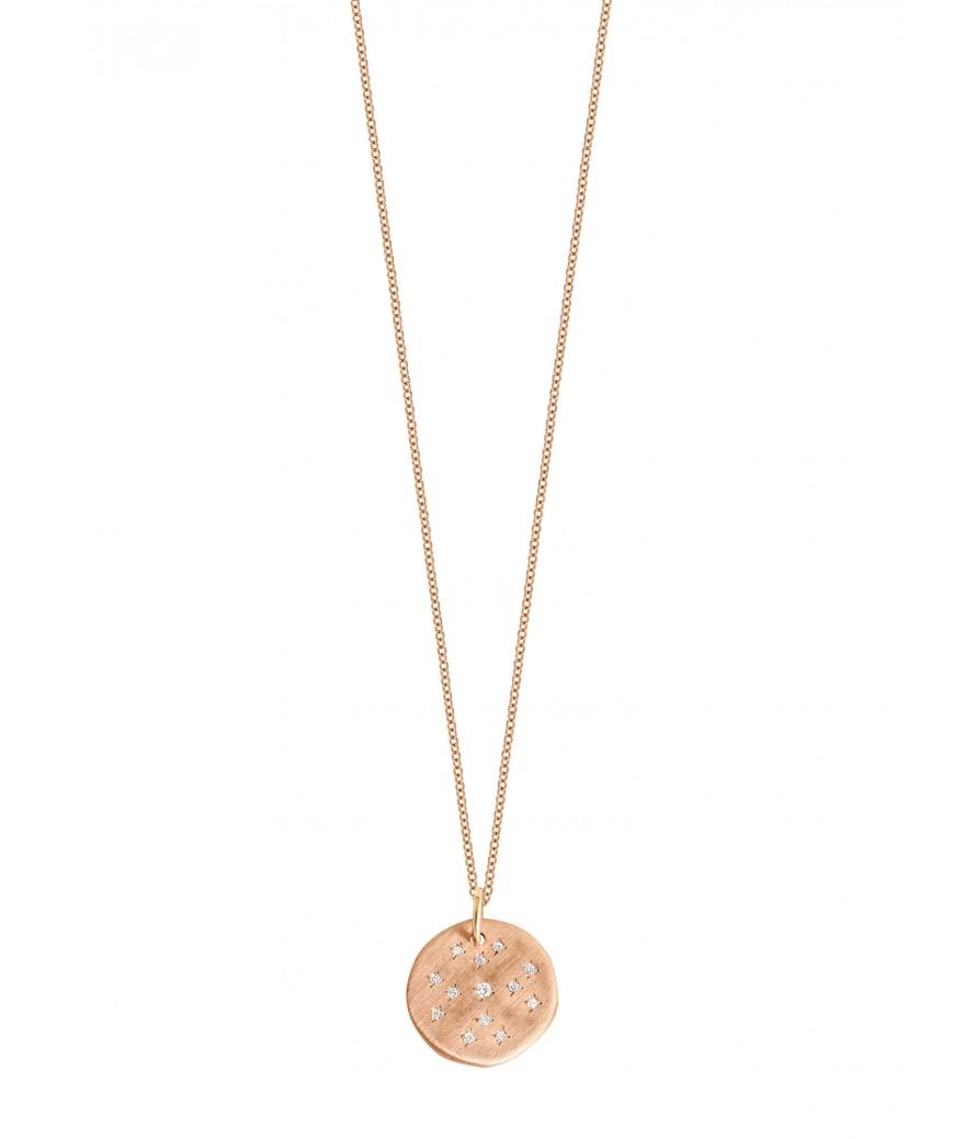 Collier Médaille Constellé GM