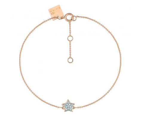 Bracelet Tiny Diamond Star