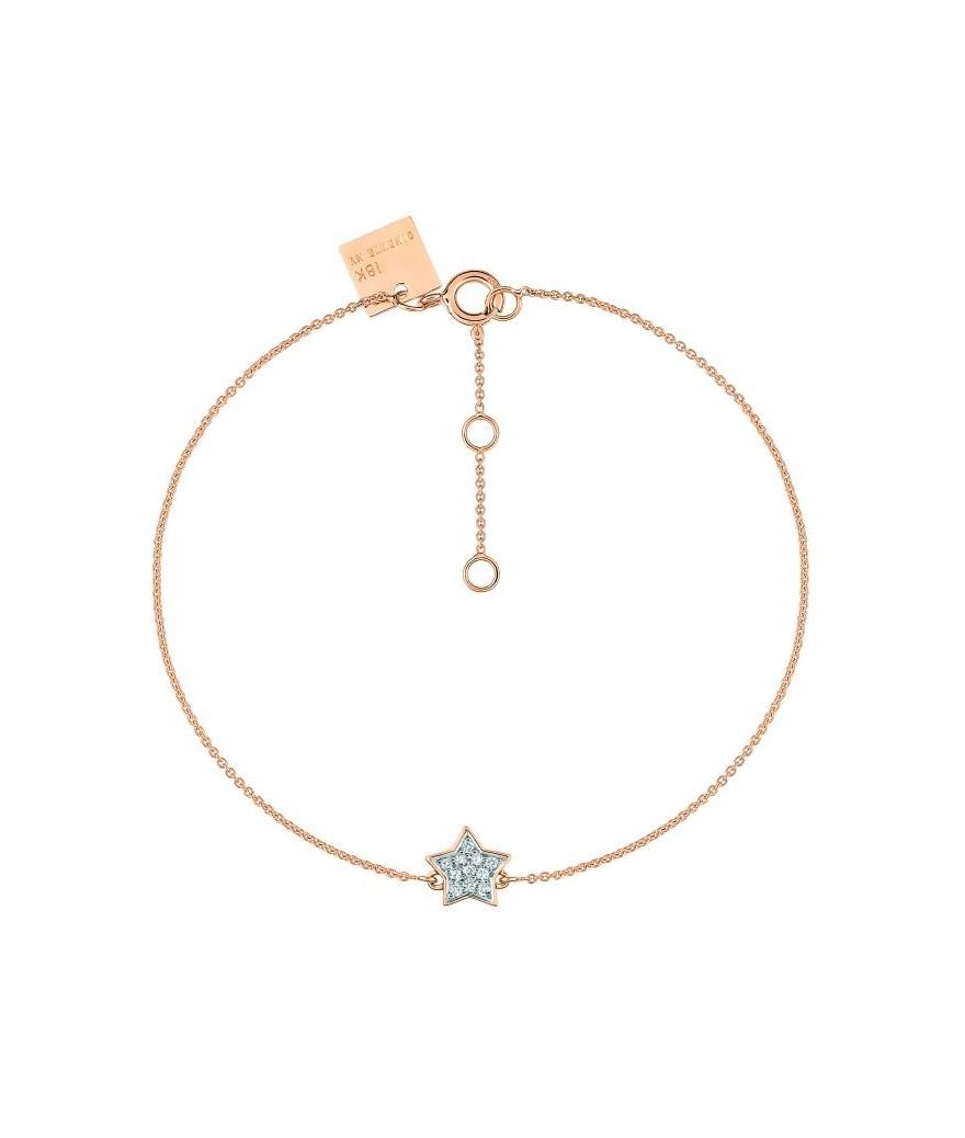 Bracelet Tiny Diamond Star