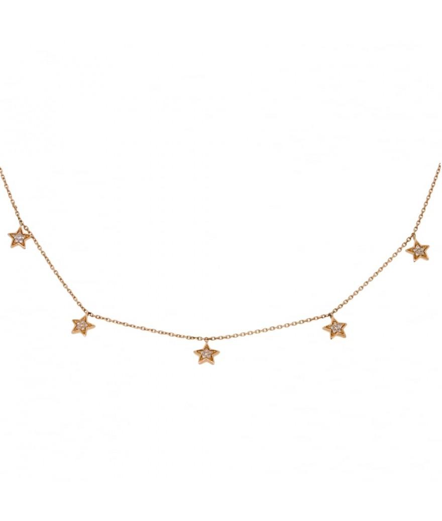Collier Pampilles Étoiles