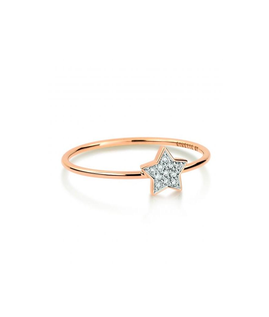Bague Tiny Diamond Star