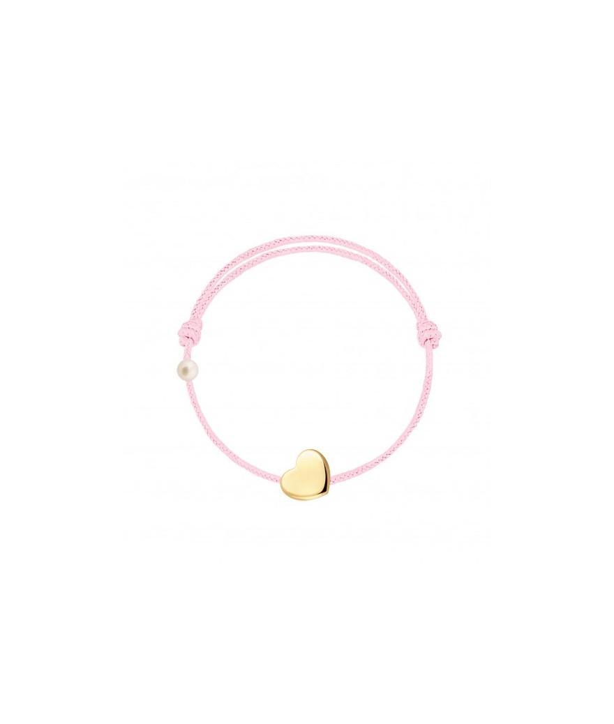 Bracelet Cordon Baby Heart